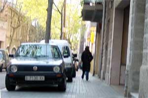 Foto del Carrer d'en Prim entre Francesc Lairet i Margarida Xirgu