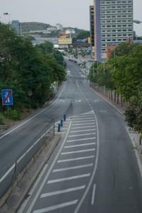 Carrer Sant Josep i de Rosés (sortida de la autopista)