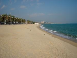 Fotografia general de la platja